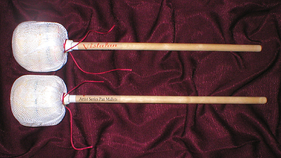 VistaPan_artist_series_bass_mallets_wood